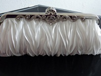  Bags Ivory  Ruched